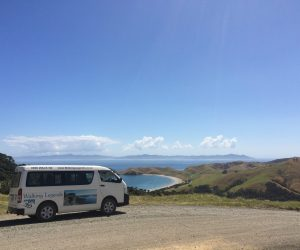 Walking Legends van on the Coromandel Peninsula